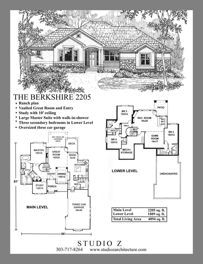 Studio Z Architecture Ranch Plans | Custom Home Design and House